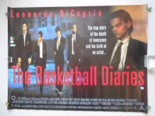 Basketball Diaries, Original UK Quad Poster, Leonardo DiCaprio, '95